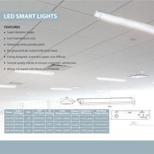 LED SMART LIGHT SPECS